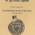 Gerolzhöfer Bibliografie