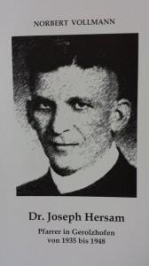 Dr. Joseph Hersam