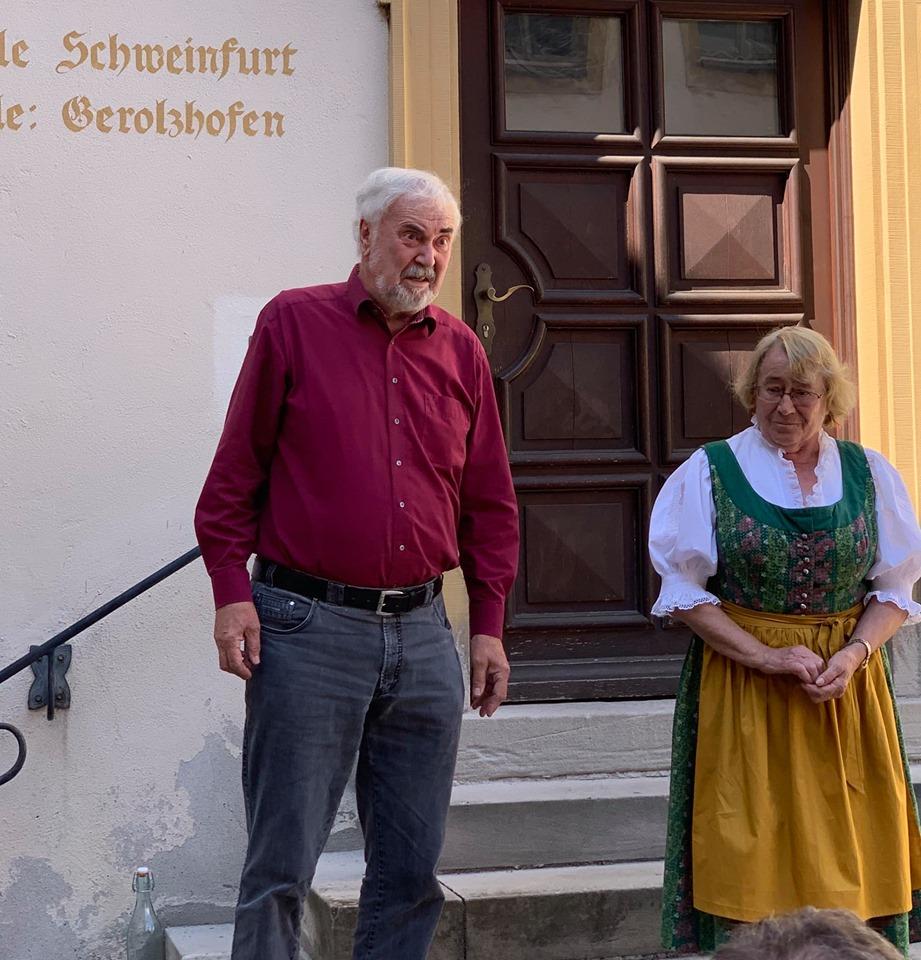 """Josef und Irmgard Fröhling erzählten """"G'schichtli aus der Rhön"""""""